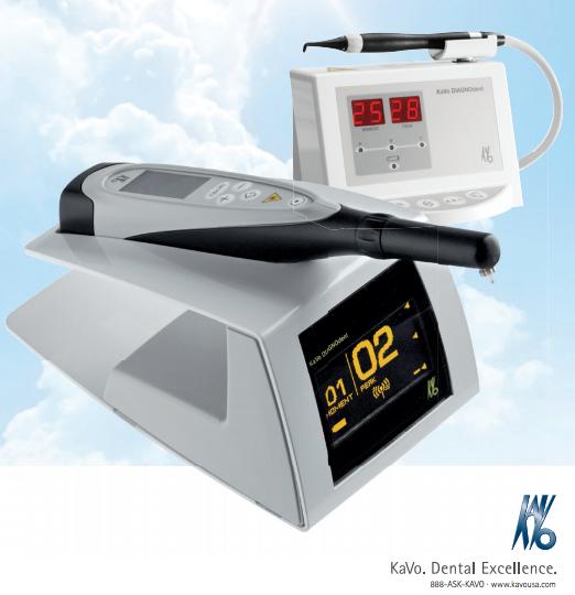 DIAGNOdent laser caries detection